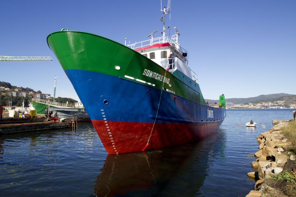 Barco Sonagas UNO